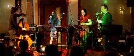 Das Quartett auf der Bühne