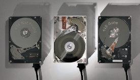 Die Installation, drei Festplatten