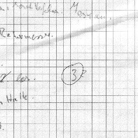 Handschriftliche Notizen